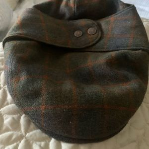 Authentic Kangol paperboy hat with ear coverage